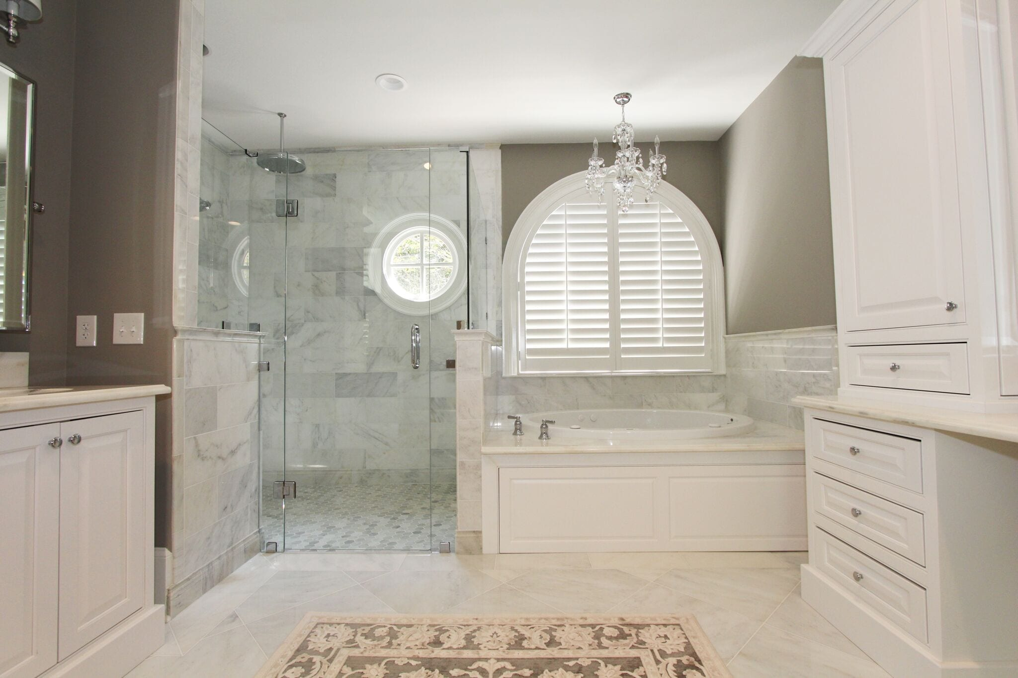 Frameless Shower Door And Panel Luxury Bathroom Products