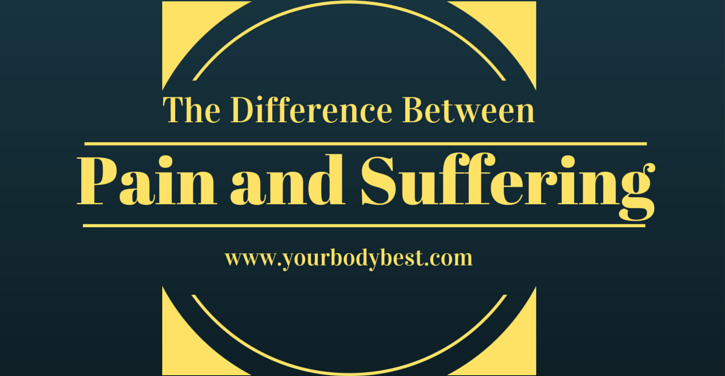difference between pain and suffering