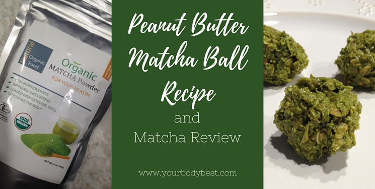 matcha ball recipe and matcha review