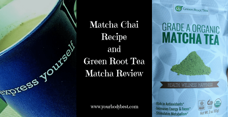 matcha chai recipe and review