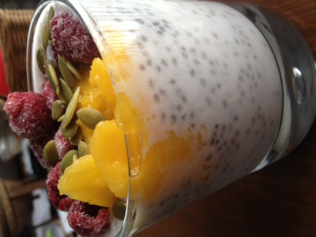 healthy reset chia pudding