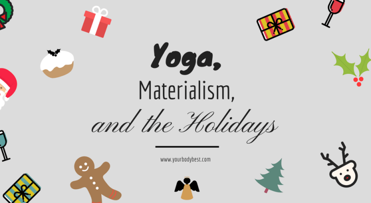 materialism and the holidays