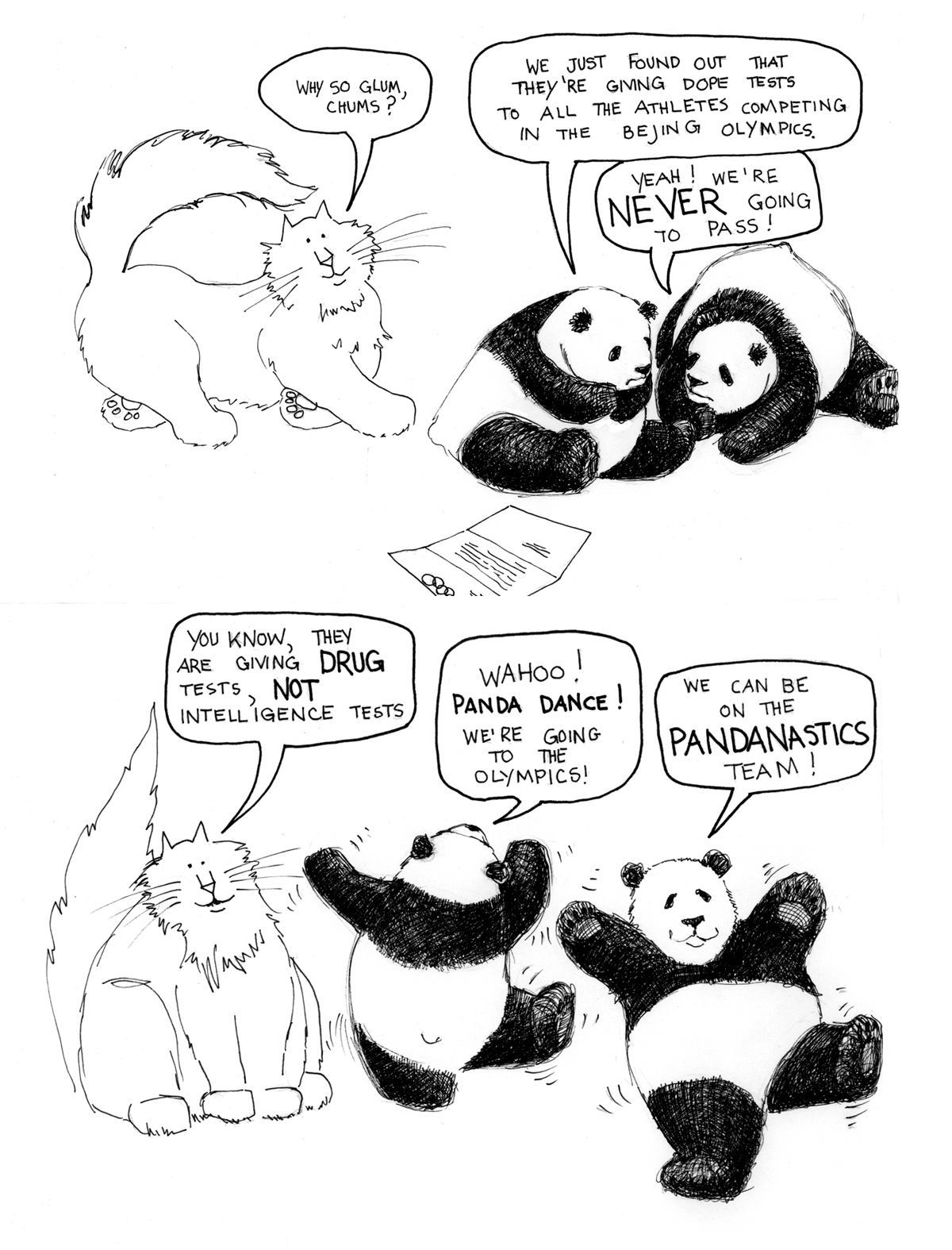 More From Pandas Take To The Skies