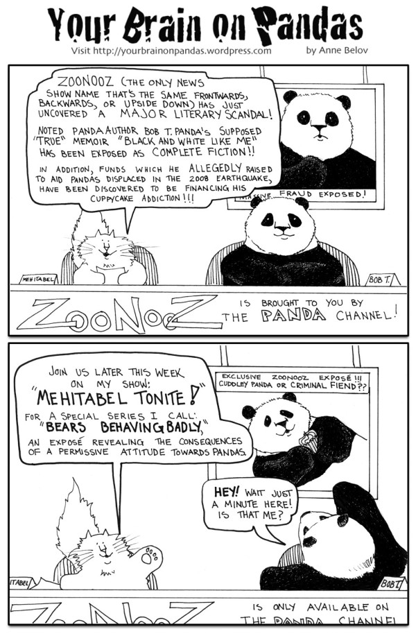 Pandas have long been active in literary pursuits