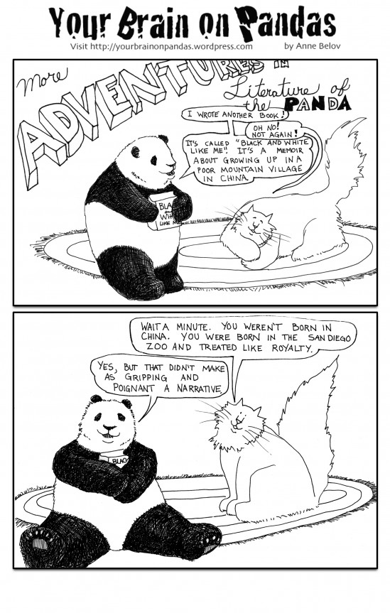 More literature of the panda!
