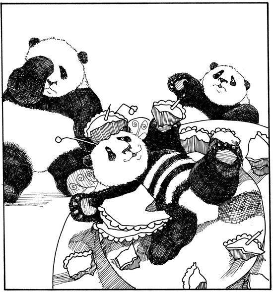 One panda's disaster is another panda's delight!