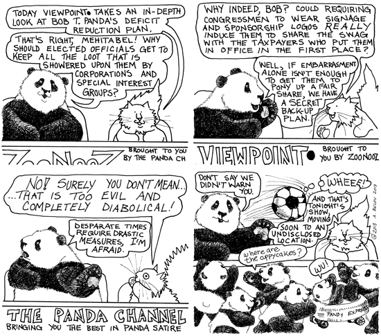 Maybe Pandas DO have a better idea.....