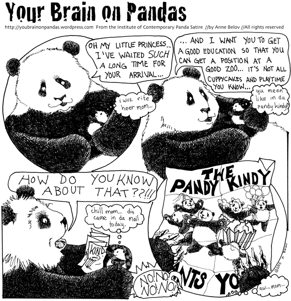 And just how did the panda kindergarten get her address?