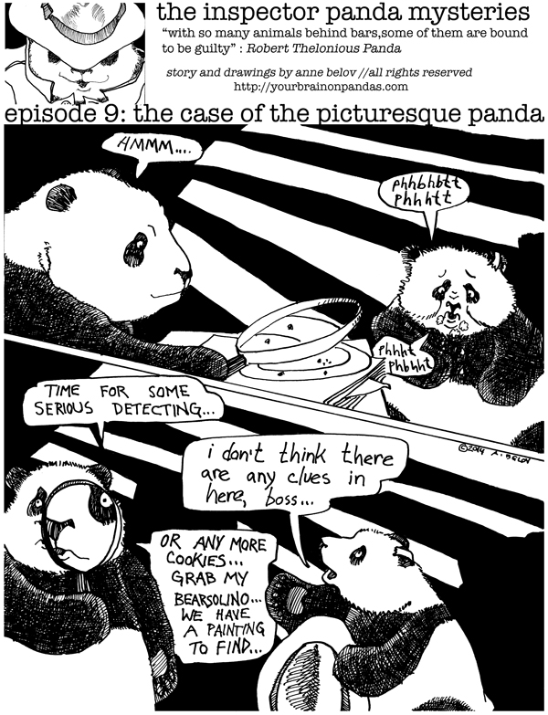 Inspector Panda: the bear with the clues...