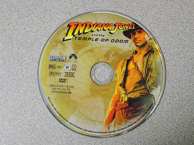 Indiana Jones & the Temple of Doom (DVD 1984)   Your Cash Exchange