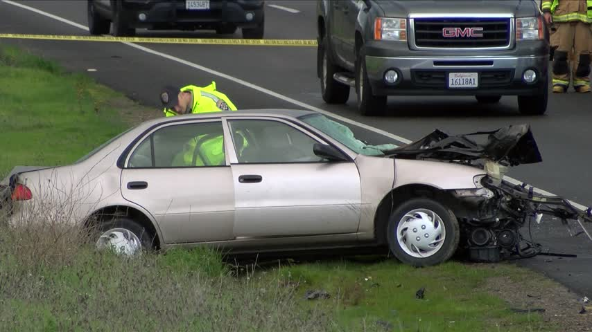 Deadly Crash Closes Highway 41 In Madera