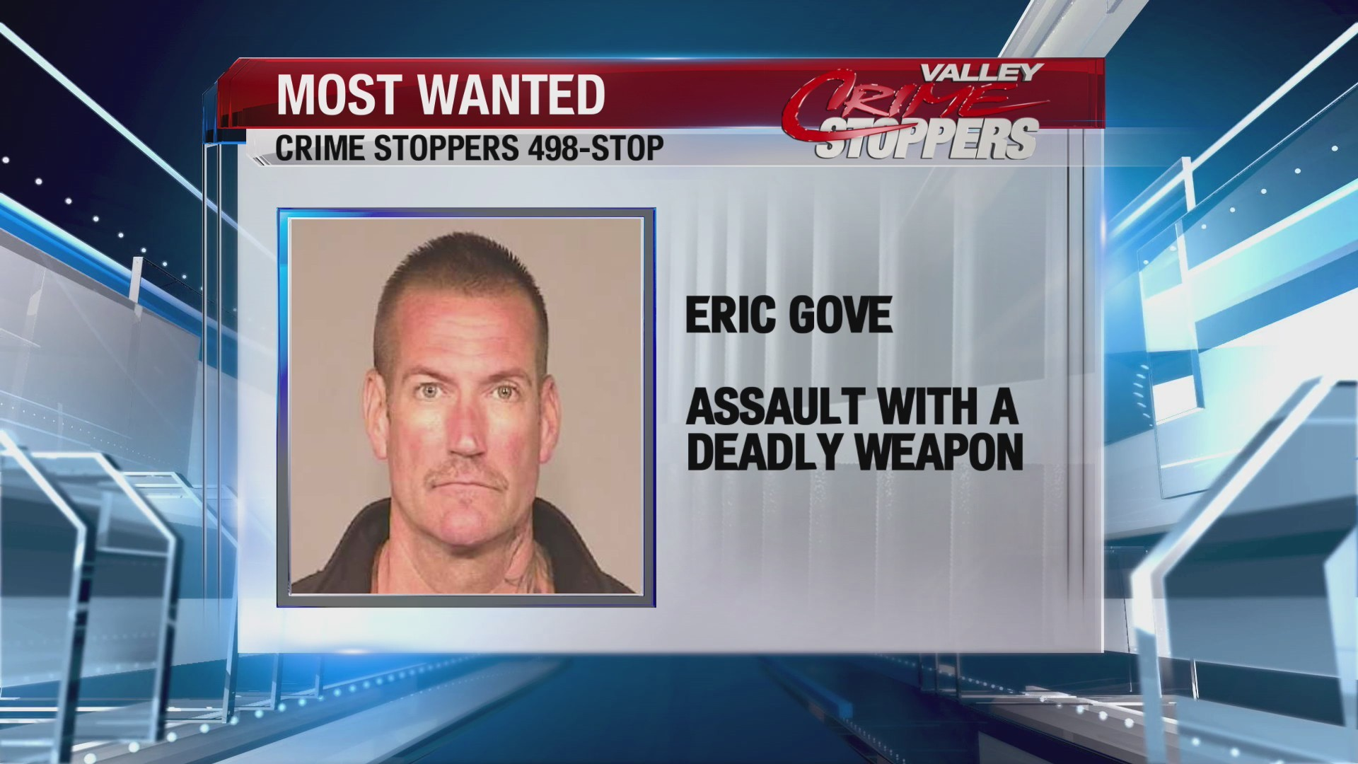 Crime Stoppers Most Wanted: Eric Gove