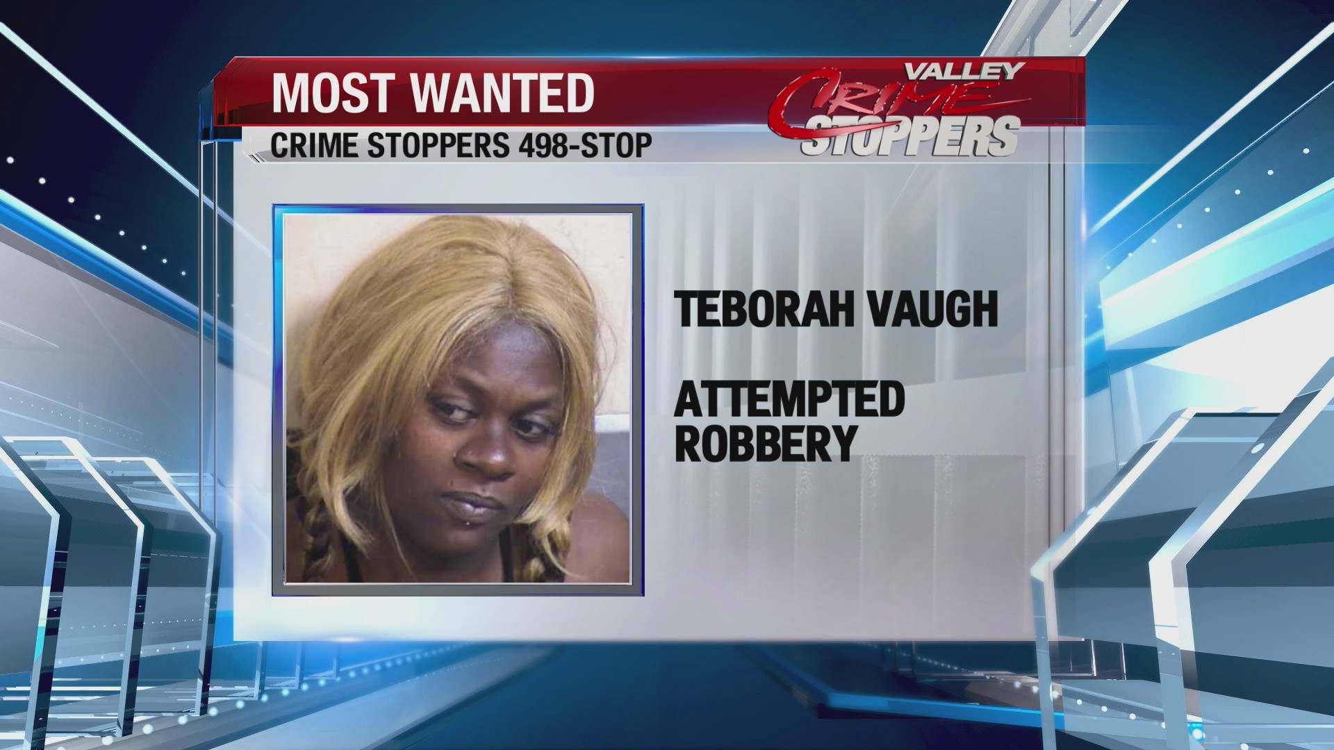 Crime Stoppers Most Wanted: Teborah Vaugh