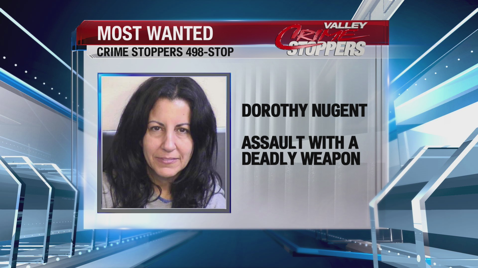 Crime Stoppers Most Wanted; Dorothy Nugent