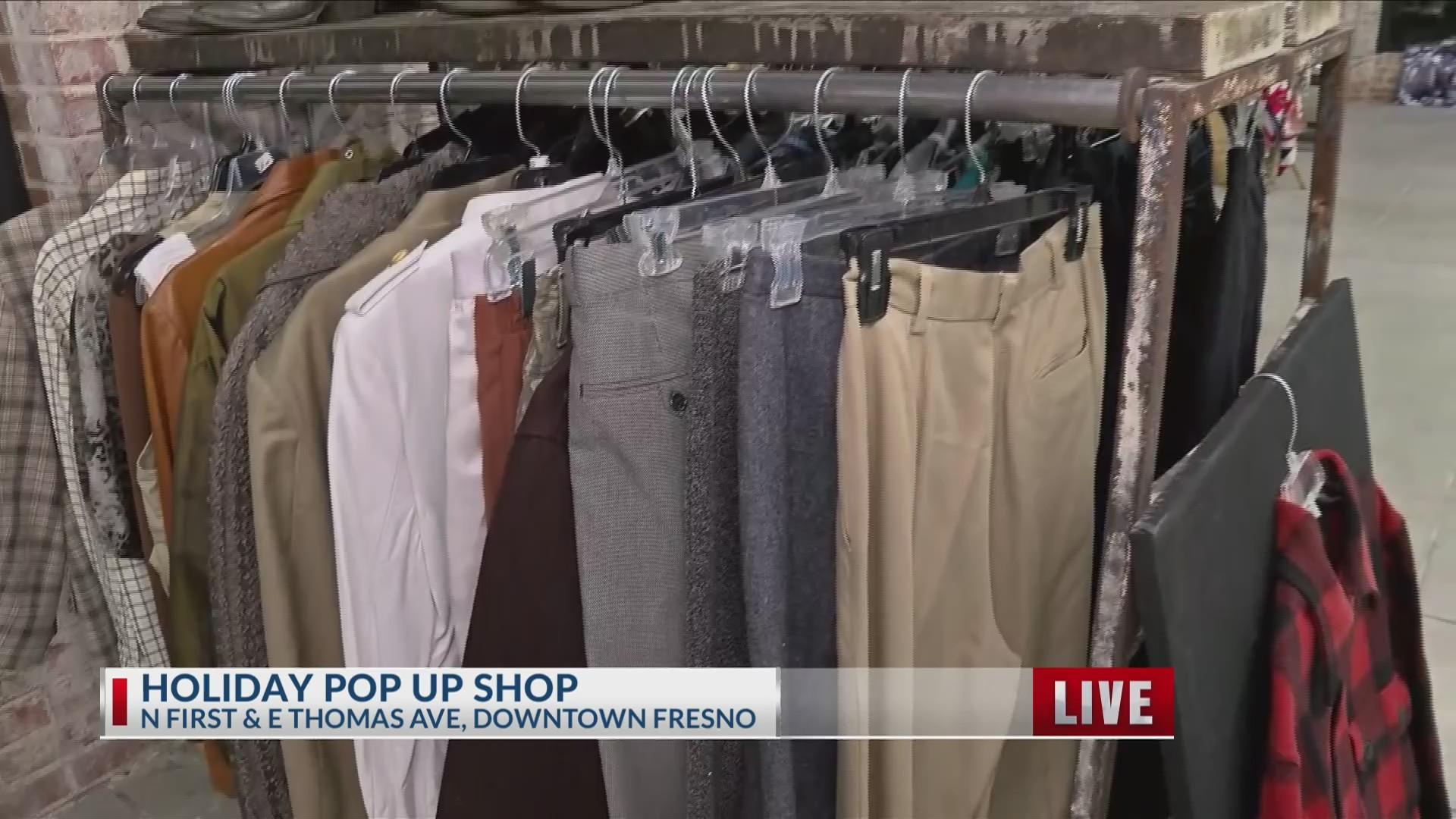 Shop for a cause: Blkmktplc. vintage pop-up shop opens Downtown