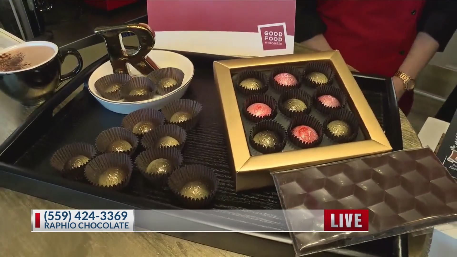Locally owned and made, Raphio Chocolate brings bean to bar chocolate to Fresno