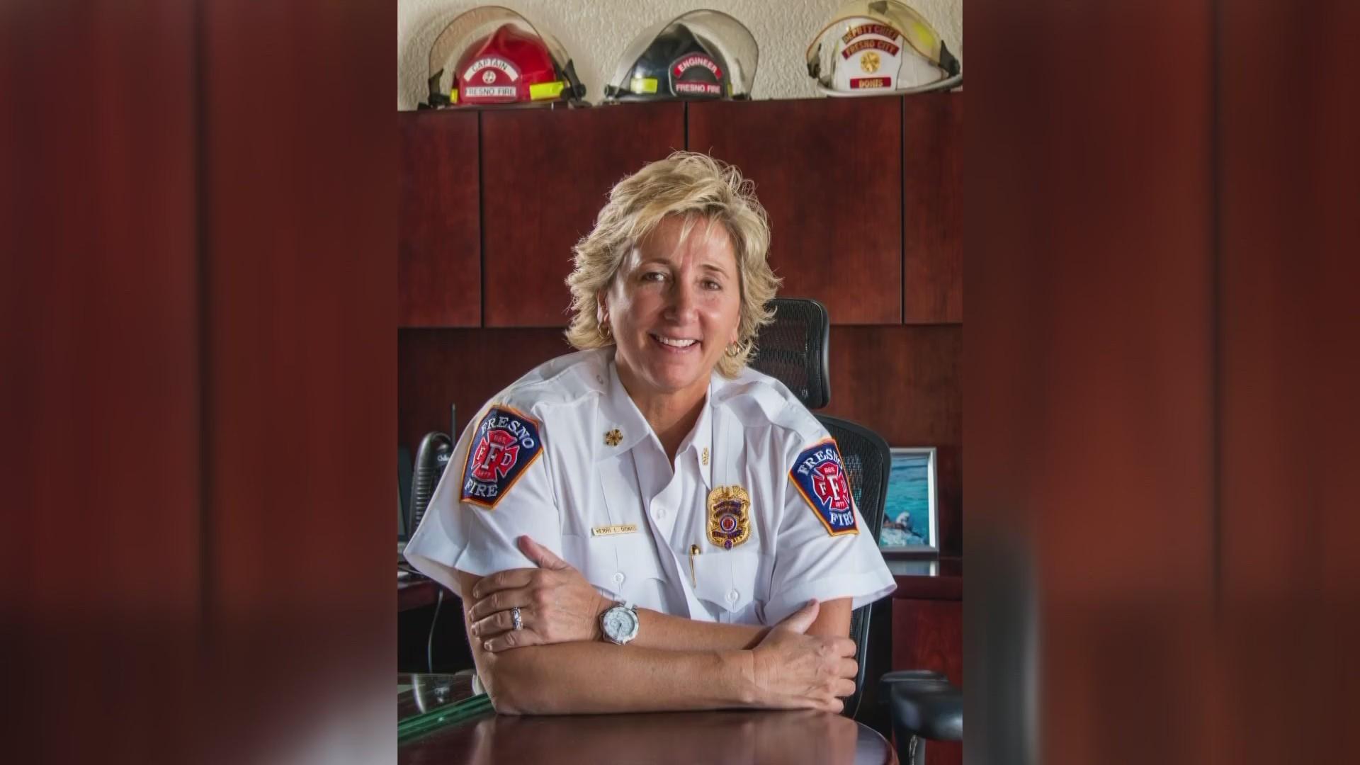 Girl Power: Highlighting Fire Chief Kerri Donis