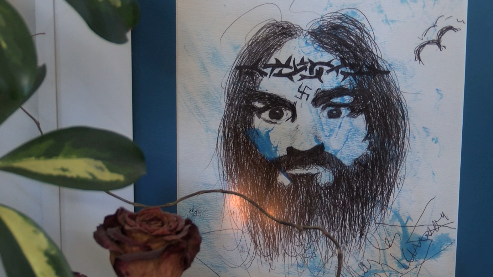 Valley man shares his killer art