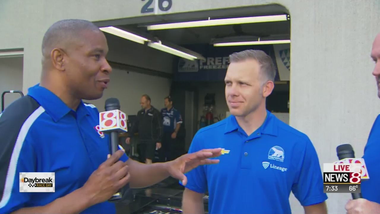 Indy's own Ed Carpenter in second spot in 103rd running of Indy 500
