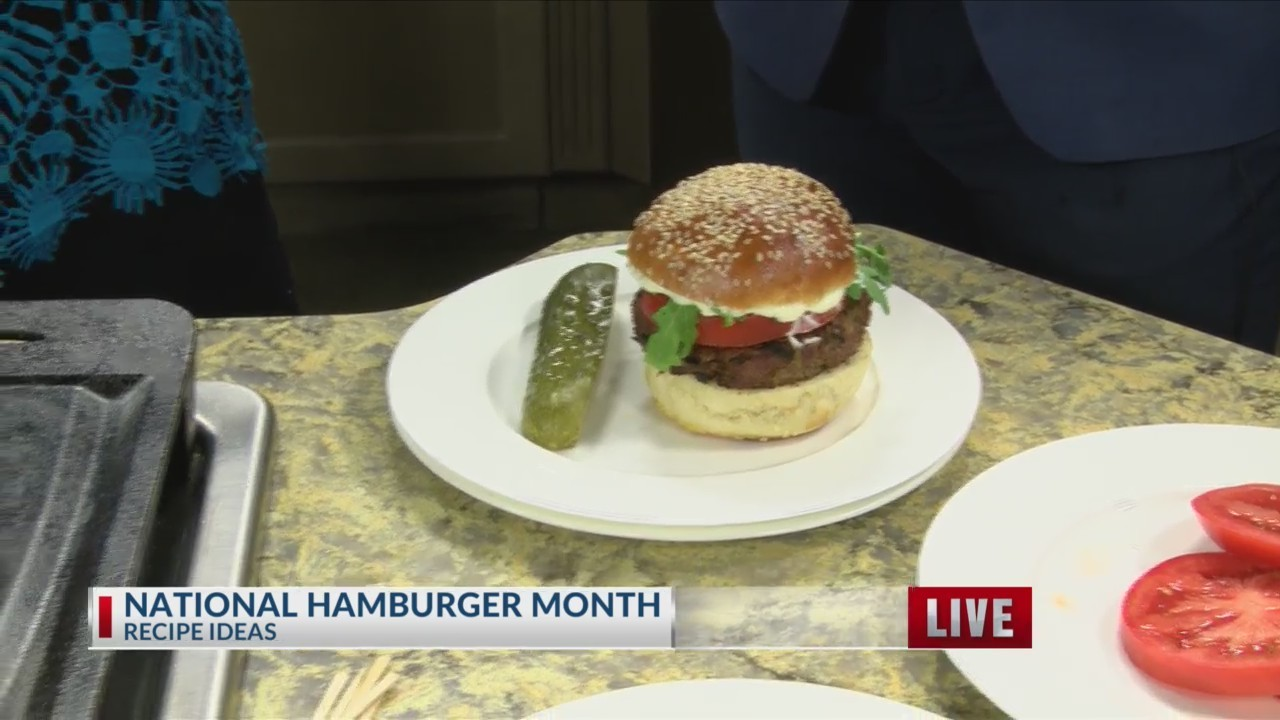 National Burger Month recipe