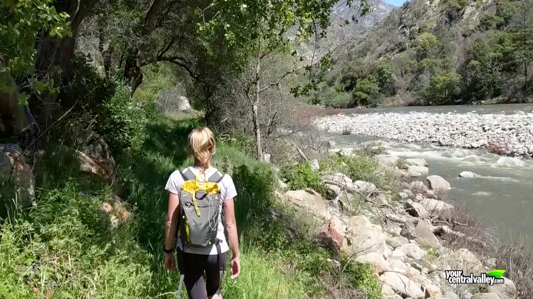 On the Trail VR/360°: Kings River Trail