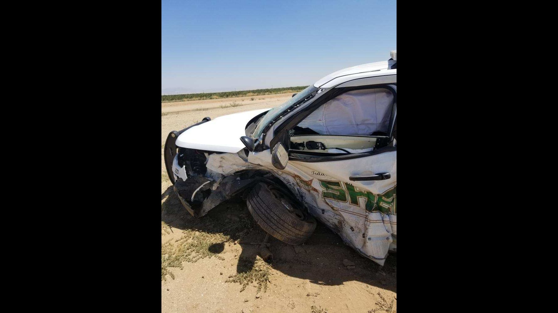 Tulare County deputy injured in crash, CHP says