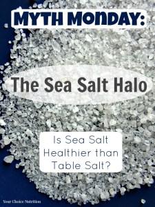 Is Sea Salt Healthier than Table Salt?