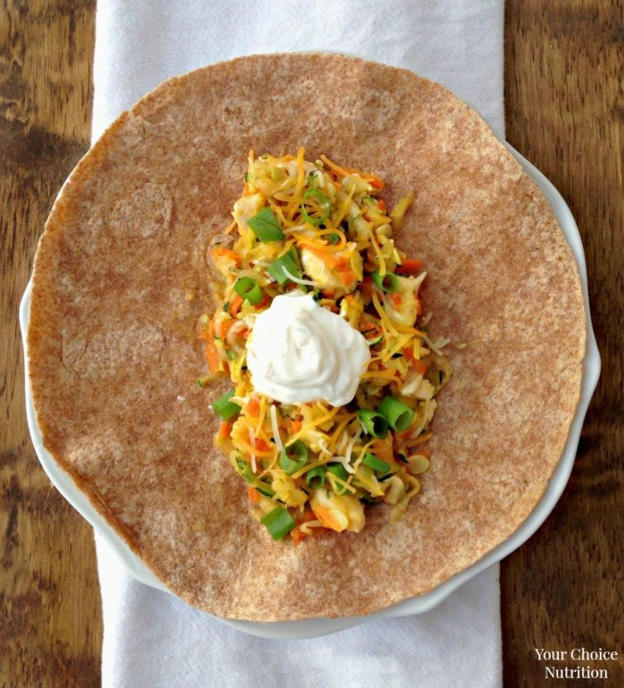 Chicken and Squash Fajitas. A heart-healthy meal the entire family will enjoy!