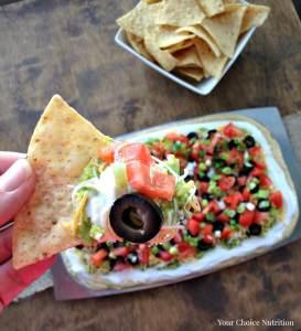 7 Layer Hummus Dip