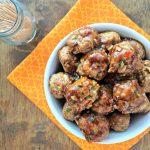 Teriyaki Turkey Meatballs
