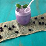 Wild Blueberry Mint Smoothie