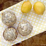Lemon Poppy Seed Cottage Cheese Muffins
