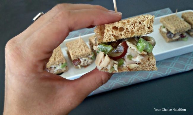 Chicken Salad Sandwich Sliders Your Choice Nutrition