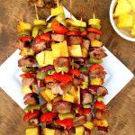Pineapple Pork Kebabs