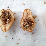 Maple Pecan Baked Pears