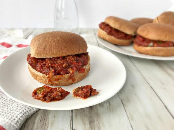 recipe: how many calories in a sloppy joe with bun [31]