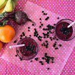 Immune Boosting Wild Blueberry Beet Smoothie