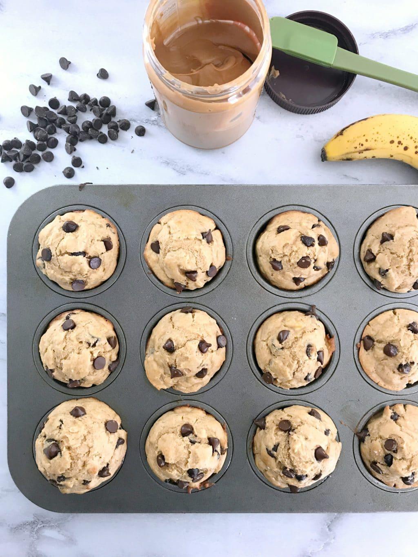 Banana chocolate chip muffins recipe in grams