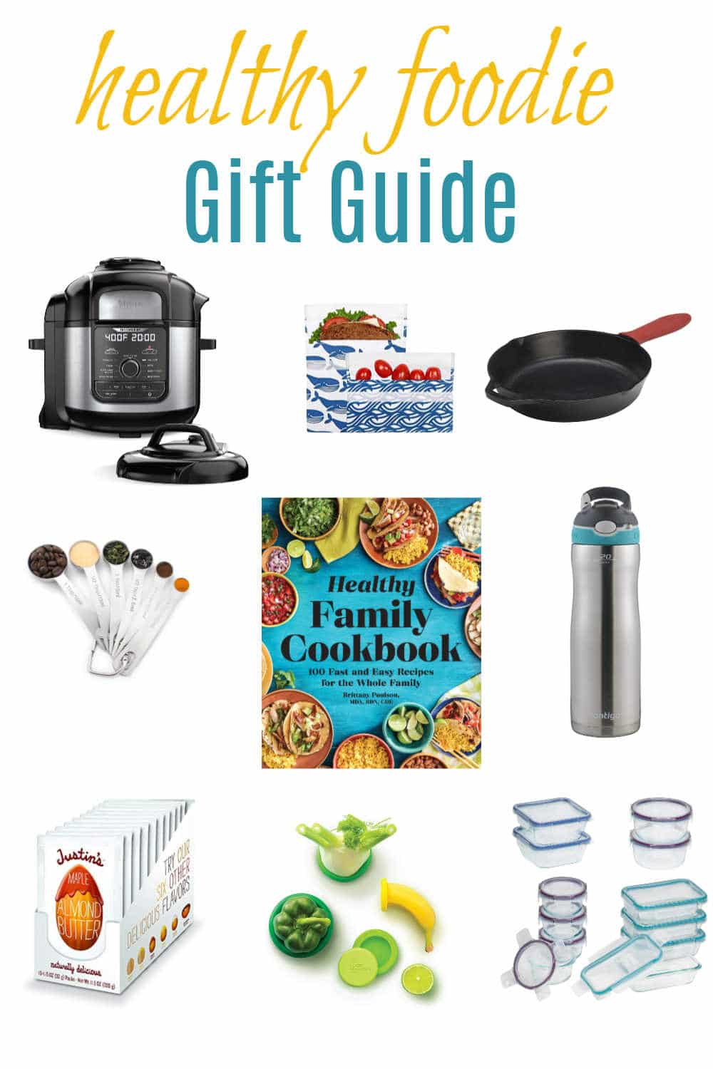 From kitchen gadgets to cookbooks, this healthy foodie gift guide is sure to have something for the healthy foodie in your life. | via www.yourchoicenutrition.com