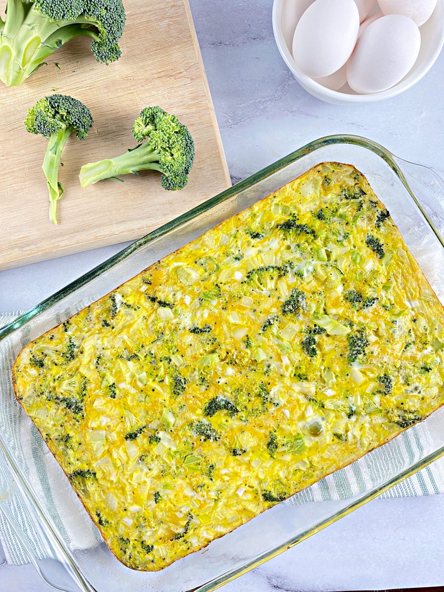 Broccoli Egg Bake Your Choice Nutrition