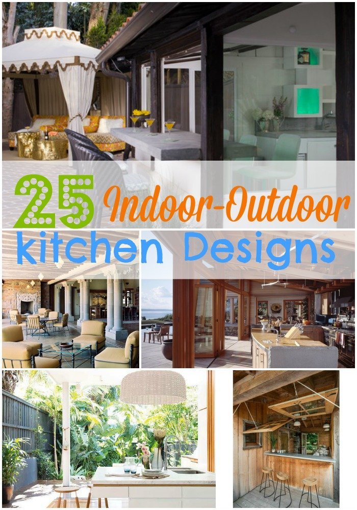 Indoor Outdoor Kitchen Design Inspirations