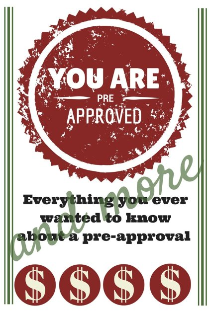 Pre approval for home purchase