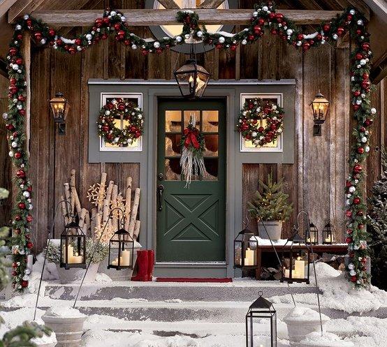 Colorado christmas woodland alpine home decor frontdoor