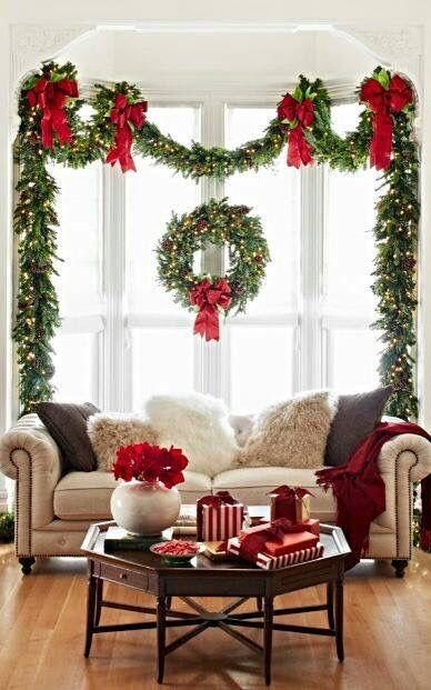stylized woodland christmas