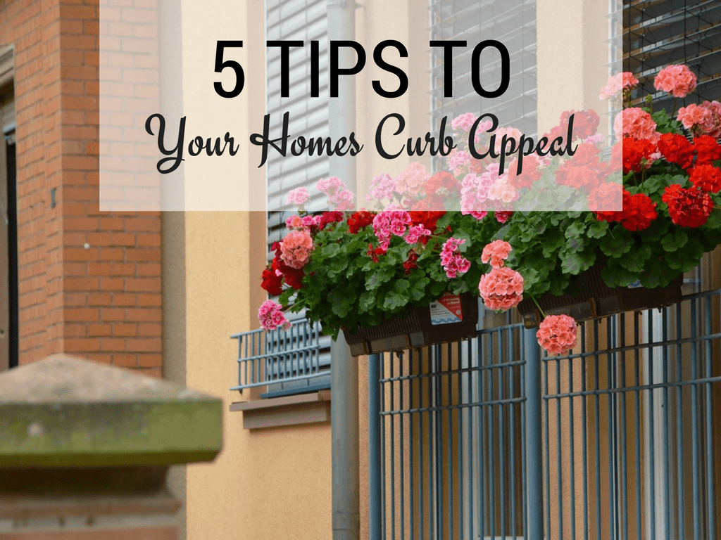 Five Easy Ways to Improve Your Home's Curb Appeal