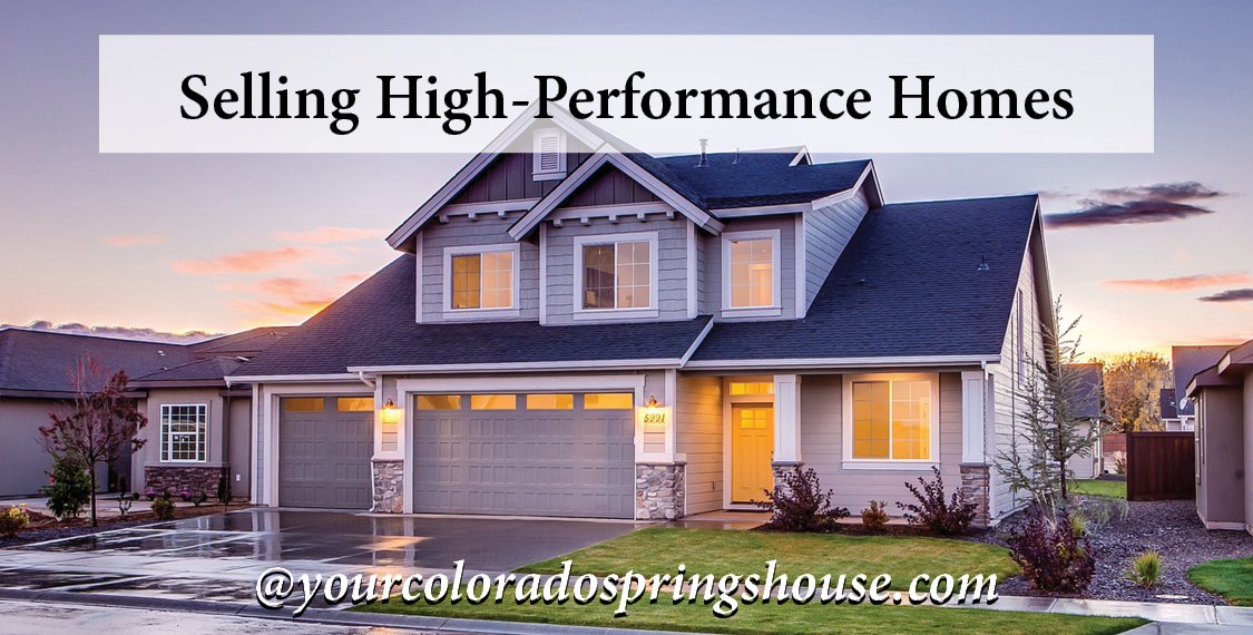 Selling High Performance Homes