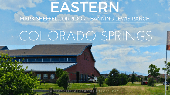 Neighborhoods in Eastern Colorado Springs