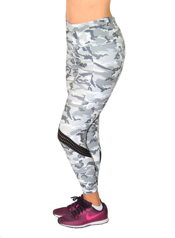 High waist camo legging