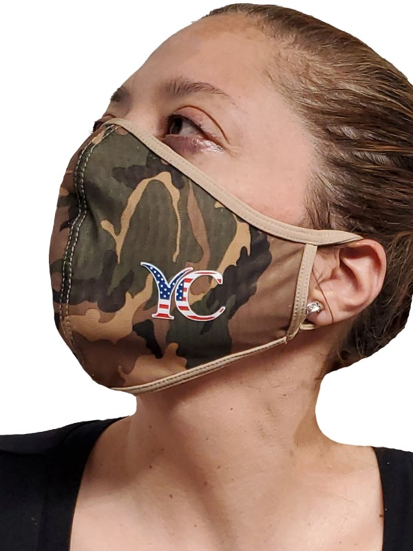 coronvirus. Face Mask, COVI-19, corona, Medical Fashion Face mask camo grey side logo 3