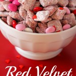 Red Velvet Puppy Chow Your Cup Of Cake